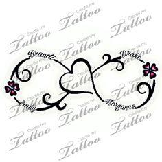 50 More tattoo ideas incorporating children& names - - tattoo-ideen mit kindernamen Tattoos For Childrens Names, Mother Tattoos For Children, Tattoos With Kids Names, Tattoos For Daughters, Sister Tattoos, Kid Names, Tattoos For Women, Children Names, Daughter Tattoos