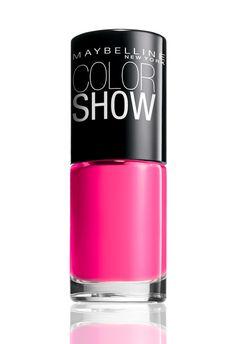 "Maybelline Color Show ""Pink Shock""."