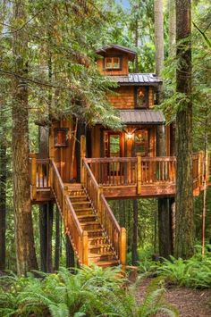 Tree house of 20036 194th Ave. N.E., in Woodinville. Photo: Matt Edington/Clarity Northwest Photography, Maureen Rammell/Coldwell Banker Bain