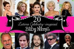 20 Baby names inspired by famous Latino celebrities!
