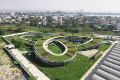 Galeria de Jardim de Infância de Cultivo / Vo Trong Nghia Architects - 1