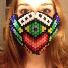 Accessories - Plur warrior's kandi mask