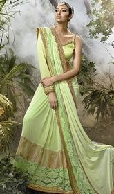 Green Color Embroidered Net and Lycra Designer Sari #pattusarees #sareesonfacebook Make a striking style with this green color embroidered net and lycra designer sari. The lace and resham work seems chic and excellent for any celebration. Upon request we can make round front/back neck and short 6 inches sleeves regular saree blouse also.  USD $ 268 (Around £ 185 & Euro 204)
