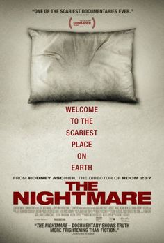 The Nightmare 2015 poster