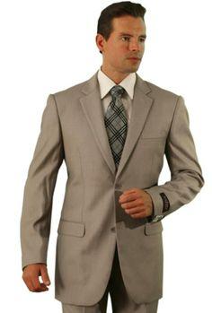 Poly/Rayon Men's Dark Tan affordable suit online sale Suit | MensITALY  Price: US $99