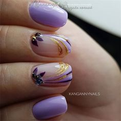 Just paint a random touch on your nails and cover it with bright nail polish. You will find different beauty. The classic case in the article is for your reference. I hope to find more inspiration for your nail design Bright Nail Polish, Bright Nails, Purple Nails, Love Nails, My Nails, Water Marble Nails, Cute Nail Designs, Trendy Nails, Nails Inspiration
