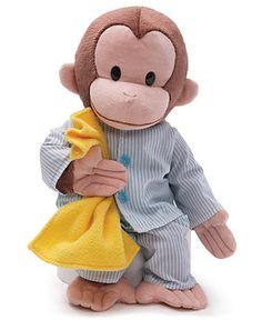 Curious George in Pajamas Toy