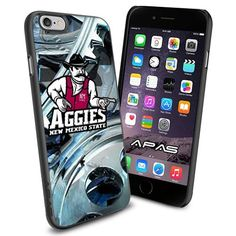 New Mexico State Aggies NCAA Silicone Skin Case Rubber Iphone 6 Case Cover Black color [ Original by WorldPhoneCase ] WorldPhoneCase http://www.amazon.com/dp/B0133SDMGY/ref=cm_sw_r_pi_dp_vEU3vb0WEHMSD