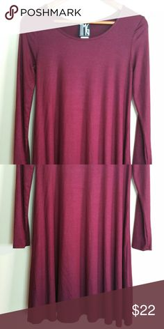 Basic burgundy tunic dress Also a basic color for this season, wear it as a top adding leggings and booties, as a mini dress to run errands with a cute pair of flats. The color is burgundy,  not purple ;) Dresses Mini
