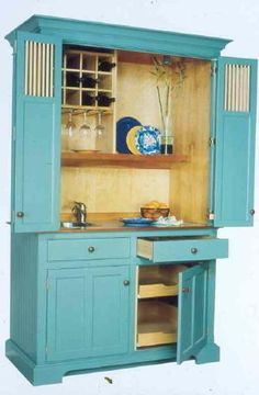 UpCycle That Old Armoire: Let it spice up your kitchen! | storage ...