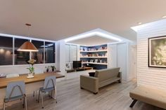 Diese Wohnung ist eine gelungene Mischung aus modernem Design, praktischer Funktionalität, angenehmem Komfort und einer guten Prise Individualität.