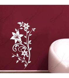 Sticker - Floral Passion  Smaer.ro vine in ajutorul tau pentru a crea o atmostfera unica in casa ta. Decoreaza incaperea cu Sticker - Floral Passion, iar starea ta de spirit va fi una pozitiva pe tot parcursul zilei. Un sticker decorativ cu personalitate pentru a anima casa repede si fara efort. Acest model este potrivit pentru living unei case primitoare, armonioase si pozitiva. Alege culoarea din care sa fie compus stickerul tau si bucura-te de atmosfera unica.