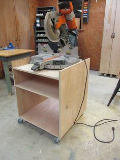 DIY Miter Saw Stand | Wilker Do's