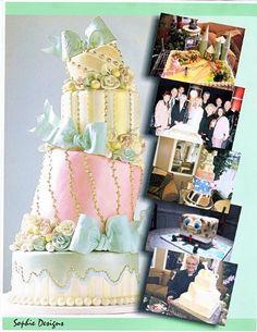 Several birthday cakes
