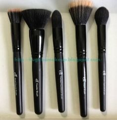 Best of ELF Brushes and an Explanation of What Each Brush is For! - these are my picks for cheap beauty brushes...  E.L.F Cosmetics Brushes
