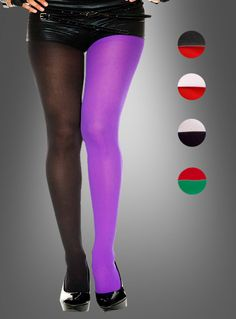 Strumpfhosen Übergröße 2 Farben bei »Kostümpalast