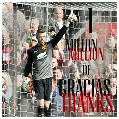 One million thanks!! Un millón de gracias!!
