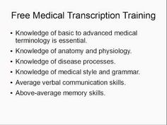 Medical Transcriptionist Resume Example Resume examples Medical