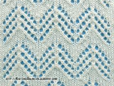 Lace Stitches for Spring 2016 - Pattern 3/10 - Knitting Unlimited