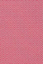Fabric | Soho Weave in Raspberry | Schumacher  Color: Rasberry  *Maybe for RIe's room