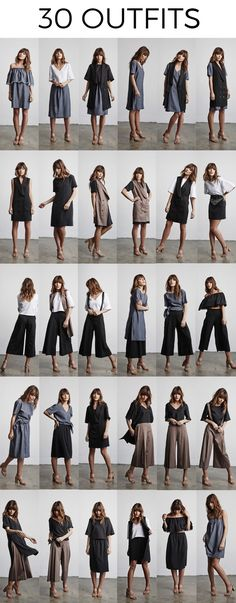 The Ultimate Capsule Collection | 5 Pieces = 30 Outfits by VETTA — Kickstarter