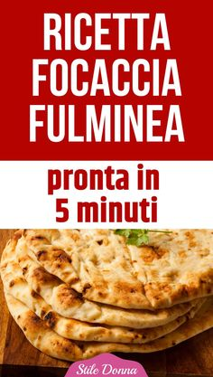 Bread Recipes, Vegan Recipes, Focaccia Pizza, Italy Food, Salty Snacks, Original Recipe, No Cook Meals, Finger Foods, Italian Recipes