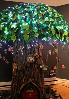 building fairy trees | coolest Christmas fairy tree ever