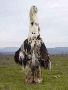 Bizarre Tribal Costumes From European Pagan Rituals Still Practiced Today - DesignTAXI.com