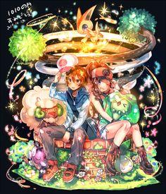 Tweet di 瑠宇 (@pktno) | Twitter con contenuti Pokemon Mew, Touko Pokemon, Pokemon Manga, Black Pokemon, Pokemon Ships, Pokemon Comics, Pokemon Fan Art, Cute Pokemon, Pikachu
