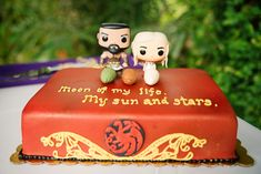 'Game of Thrones' Groom's Cake