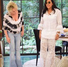 Hoje no Mais Você, a Regina Casé estava utilizando uma roupa da nossa Terra (Ceará) com Renda Renascença e Bordado a Mão. --------------------------- ------ A @bordadodoceara não fabrica roupas para adultos, mais fornecemos toalhas toda na Renda Renascença para os estilistas, costureiras fazerem seus vestidos / Roupas . Quem tiver interesse só entrar em contato WhatsApp 85 98959.9107 // www.bordadosdoceara.com.br // #rendarenascença