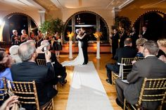 When our brides and grooms choose to have their wedding at night, it presents such a beautiful appearance! From the lighting to the bright New York skyline beaming through the windows, pure elegance will be represented.  https://www.manhattanpenthouse.com/  #nightwedding #newyorkwedding #manhattanwedding #manhattanvenue #manhattanpenthouse #weddingvenue  Photo Credit: Jennifer Boyle Photography