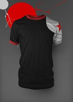 -Winter Soldier (Bucky Barnes) Tee-Shirt- IM BUYING THIS.
