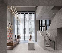 David Chipperfield Valentino New York Flagship Store | Yellowtrace