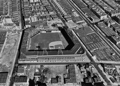 Ebbets Field, Brooklyn, New York. Home of the Dodgers.