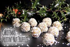 Christmas Fruit n' Nut Truffles