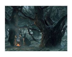 Halloween's Witches by  Jean-Baptiste Monge