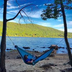 Living the hammock life in the Adirondacks. With #TrekLightGear you'll feel like celebrating America's birthday everyday.