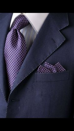 Purple Suit. You could pull it off!
