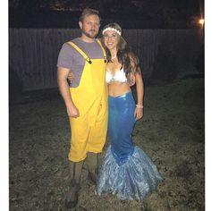 Mermaid and Fisherman Costumes DIY
