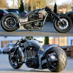 Harley Davidson Dragster rsr by Thunderbike customs Harley Davidson Night Rod, Harley Davidson Motorcycles, Custom Street Bikes, Custom Bikes, Custom Wheels, V Max, Chopper Bike, Custom Harleys, Moto Bike