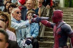 Deadpool vs Stan Lee ------------------------------------------------ Follow for more DC/Marvel facts, news, clips & memes! ------------------------------------------------ #dc #dccomics #marvel #marvelcomics #superhero #hero #supervillain #villain #superman #batman #greenlantern #harleyquinn #spiderman #thejoker #wolverine #hulk #ironman #captainamerica #thor #theflash #daredevil #superherofacts #fact #hero #facts #herofacts #superherofactsdaily