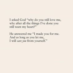 quotes about god faith & quotes about god Bible Verses Quotes, Faith Quotes, Me Quotes, Scriptures, Best Jesus Quotes, God Is Great Quotes, God Loves You Quotes, Godly Quotes, God Loves Me