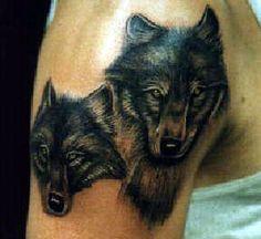 #tatoo #wolf