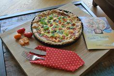 Mmmmh, eine köstliche Tomaten-Ziegenkäse-Quiche. Das ganze Rezept findet ihr mit einem Klick auf das Foto.