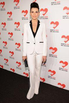 Golden Heart Awards: Julianna Margulies Looks Chic In Michael Kors