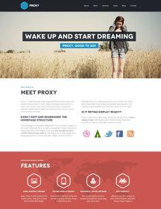Proxy theme Modern Web Design, Website Design Inspiration, Layout Design, Layouts, Inspire, Digital, Face, The Face, Faces