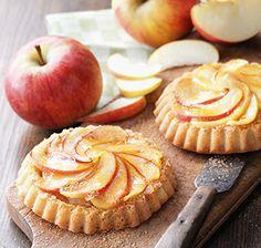 Zimt-Apfel Tartelettes
