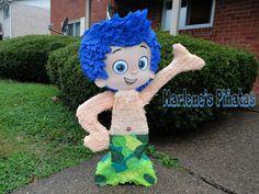 "Bubbles Guppies piñata "" Gil ""  by Marlenespinatas on Etsy"