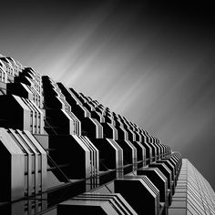 Kevin Saint Grey captures a calming energy throughout his striking black and white photographs